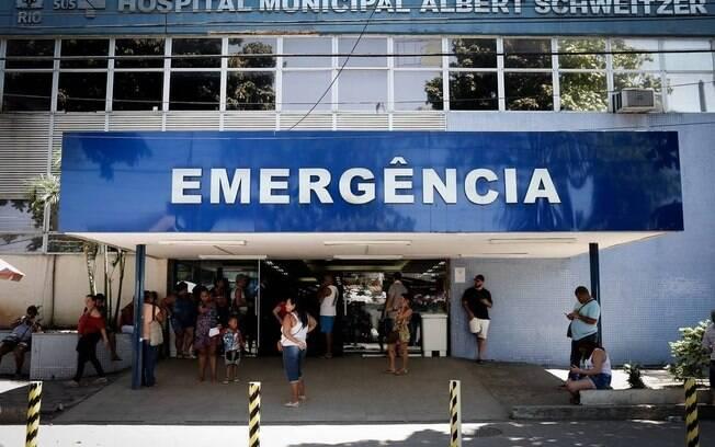 Criança foi atendida na emergência do Hospital Municipal Albert Schweitzer