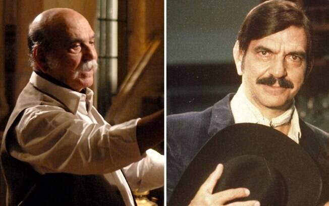 Os autoritários Max e Sinhozinho Malta, ambos interpretados por Lima Duarte, craque em fazer coronéis