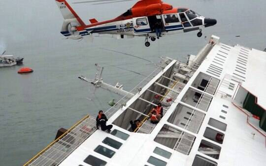 Naufrágio de balsa deixa 6 mortos e quase 300 desaparecidos na Coreia do Sul - Mundo - iG