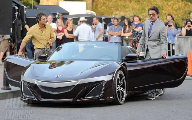 O Acura NSX foi um dos protótipos mais curiosos ao aparecer em