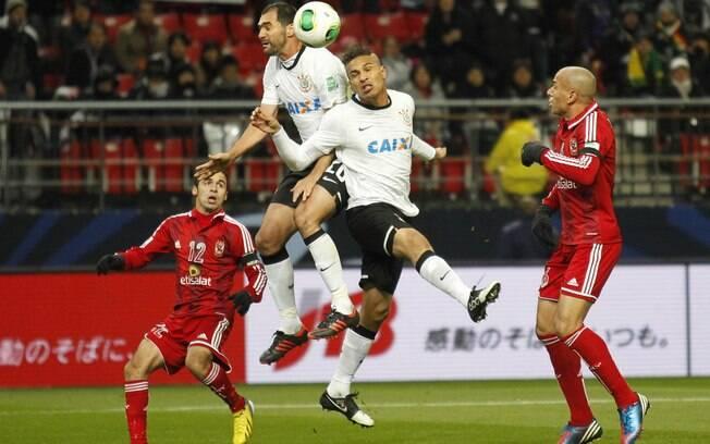 Guerrero já tinha marcado um gol para o  Corinthians no Mundial, diante do Al Ahly