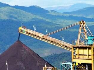 Estados fortes na produção de minério perderam participação