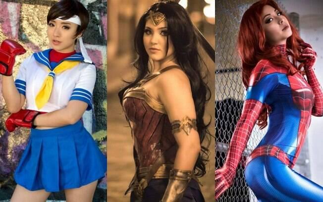 Conheça as geek girls mais talentosas e sexys do mundo nerd