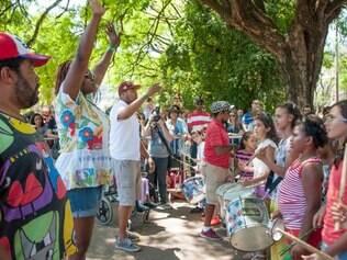 Festival começou com diversão para crianças