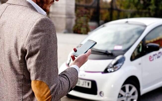 Carros elétricos e híbridos cada vez mais são procurados para aluguéis por aplicativos, para oferecer praticidade