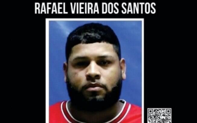 Recompensa para quem informar o paradeiro do criminoso é de R$1 mil