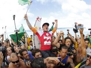 Medina conquistou o título mundial e quebrou jejum brasileiro de 38 anos