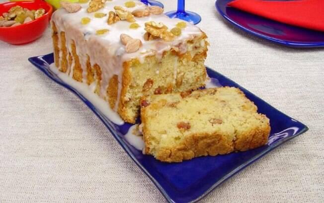 Receitas de bolo ingls para o caf da tarde