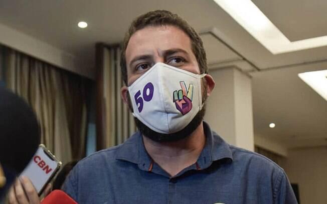 Guilherme Boulos, candidato à Prefeitura de São Paulo pelo PSOL