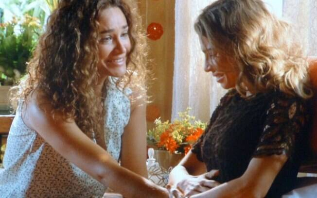 Ester descobre que está grávida de Cassiano, em