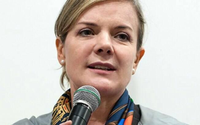 Gleisi Hoffmann, ex-ministra-chefe da Casa Civil e filiada ao PT