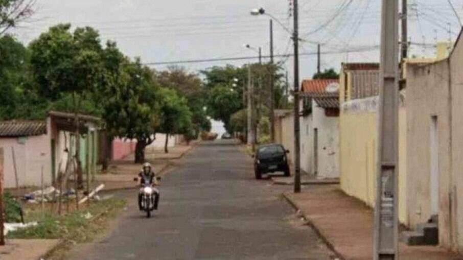 Acidente aconteceu no Bairro São Jorge, em Uberlândia (MG)