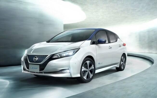Nissan Leaf é uma das maiores novidades elétricas do Salão do Automóvel 2018, que inclusive será vendido por aqui
