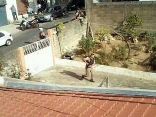 Homem foi preso na rua São João, após pular muros de residências