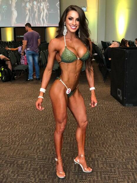 Bruna Brito, atleta de fisiculturismo