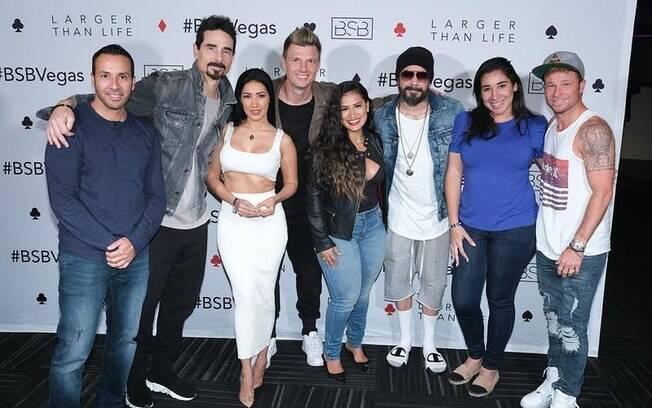 Simone e Simaria tetaram os Backstreet Boys