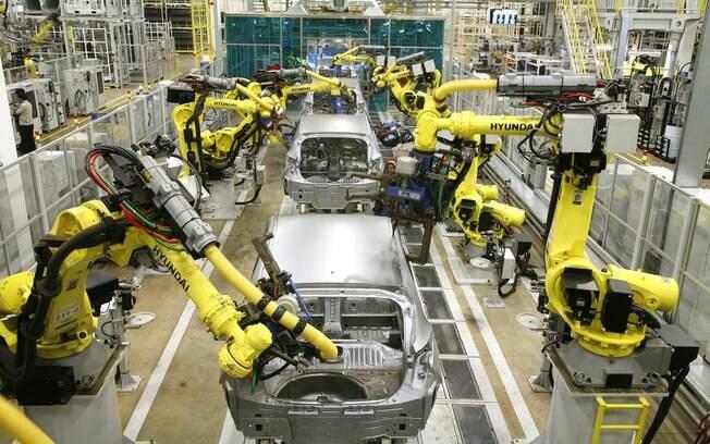 fabrica da Hyundai