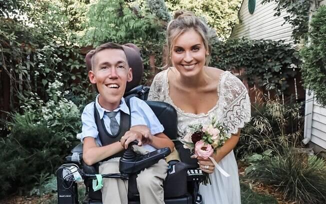 Hannah Aylward e Shane Burcaw