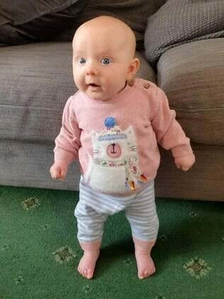 bebê mais forte do mundo