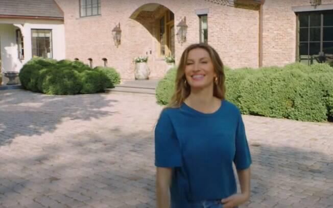 Fachada da mansão de Gisele Bündchen e Tom Brady