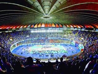 Lotado. No final da Superliga masculina, que aconteceu em abril, todos os ingressos foram vendidos