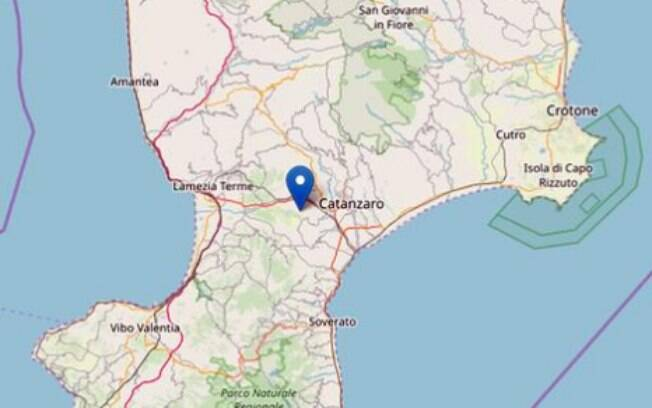 Terremoto atinge magnitude 4 na Itália