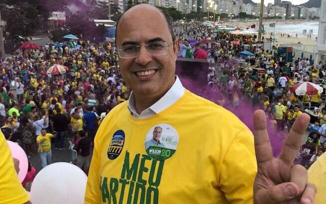 Advogado Wilson Witzel (PSC) subiu na reta final de campanha na eleição no Rio de Janeiro