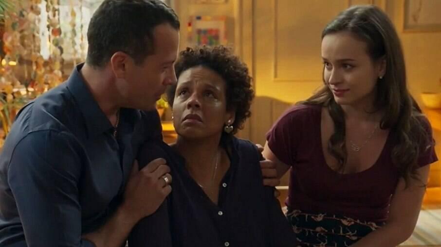Nair revela seu segredo para Adônis, Apolo e Larissa