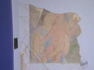 A pintura encontrada tem tudo para ser do artista, porém, isso ainda será apurado