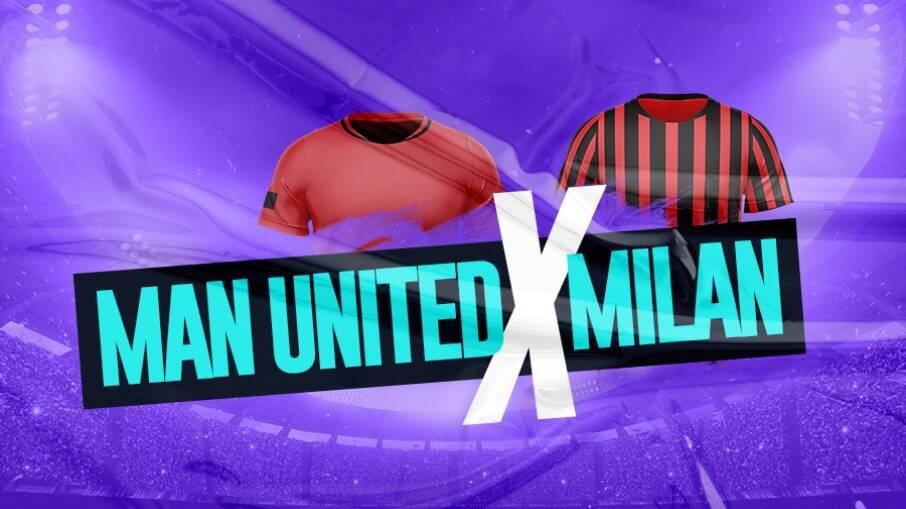 Manchester United e Milan se enfrentam pela Liga Europa
