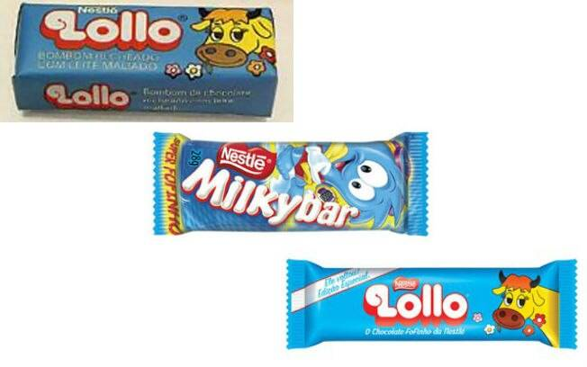 lollo milkybar rebranding