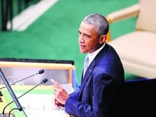 Líder. Presidente dos EUA, Barack Obama, liderou reunião do Conselho de Segurança da ONU, ontem