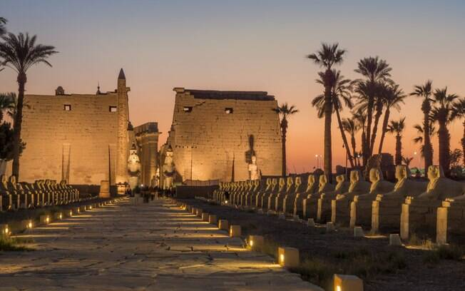 O Templo de Luxor é um Patrimônio Mundial da UNESCO