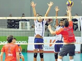 Minas Gerais. Seleção do Estado (de laranja) tem sete atletas que fazem parte das categorias de base do Sada Cruzeiro