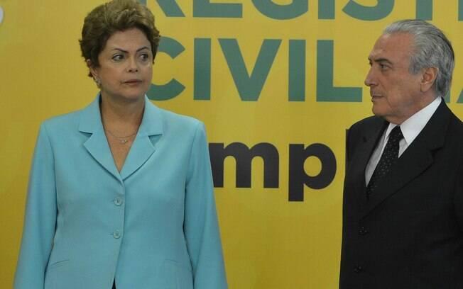 Caso a chapa eleita em 2014 seja cassada, Michel Temer terá de deixar Presidência e Dilma perderá direitos políticos