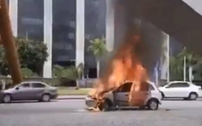 Acidente aconteceu neste sábado (22), no Rio de Janeiro