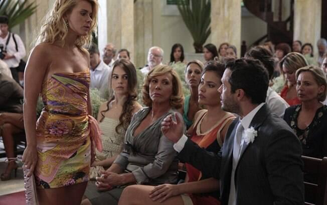 Teodora garante que Quinzé não participará da vida de seu filho.