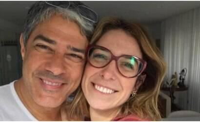"""Bonner faz surpresa para a esposa: """"Me fez chorar"""""""