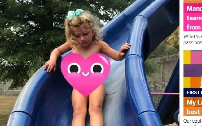 De acordo com relato, Sadie fugiu sem fraldas e sem roupas