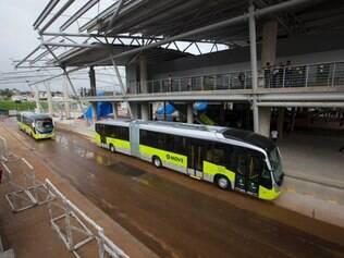 Move na estação São Gabriel, na região Nordeste de Belo Horizonte, neste sábado (8)