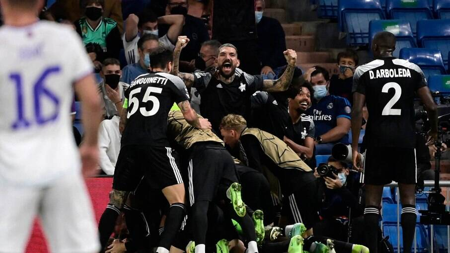 Real Madrid x Sheriff Tiraspol