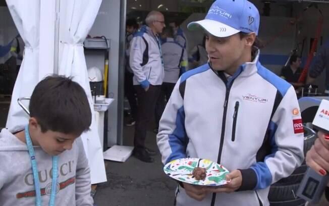 Felipe Massa completou 38 anos de idade