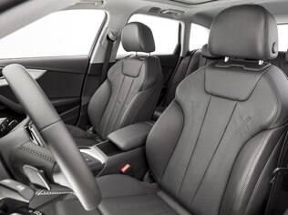 Audi A4 Avant conta com bom acabamento e bancos confortáveis
