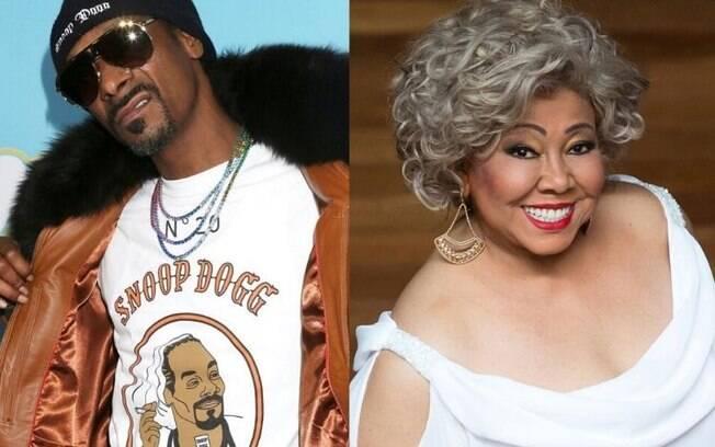 Snoop Dogg faz sucesso ao ouvir música de Alcione