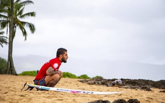 O brasileiro Filipinho é o segundo brasileiro a disputar o título do Mundial de Surfe 2018