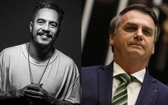 Marcelo D2 chama Bolsonaro de monstro