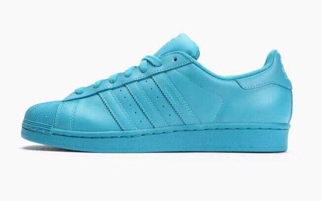 adidas supercolor azul turquesa