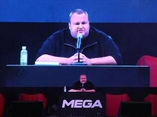 Kim DotCom, fundador do Megaupload, anunciou em janeiro um substituto para o site, o Mega