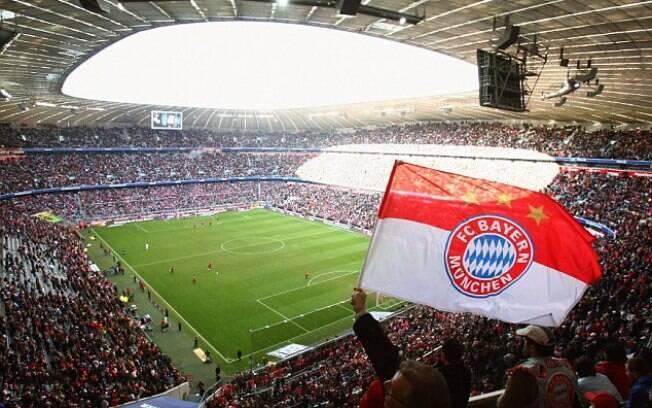 O Bayern de Munique vendeu todos os ingressos para partidas da Bundesliga.