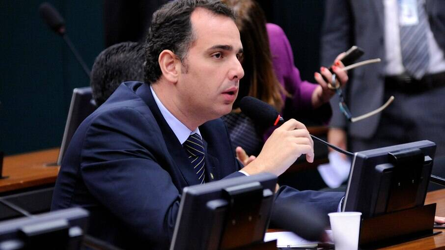 Candidato à presidência do Senado Rodrigo Pacheco (DEM-MG)